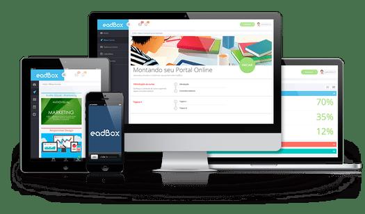 imagem que mostra a Plataforma para Ensino Híbrido - eadbox