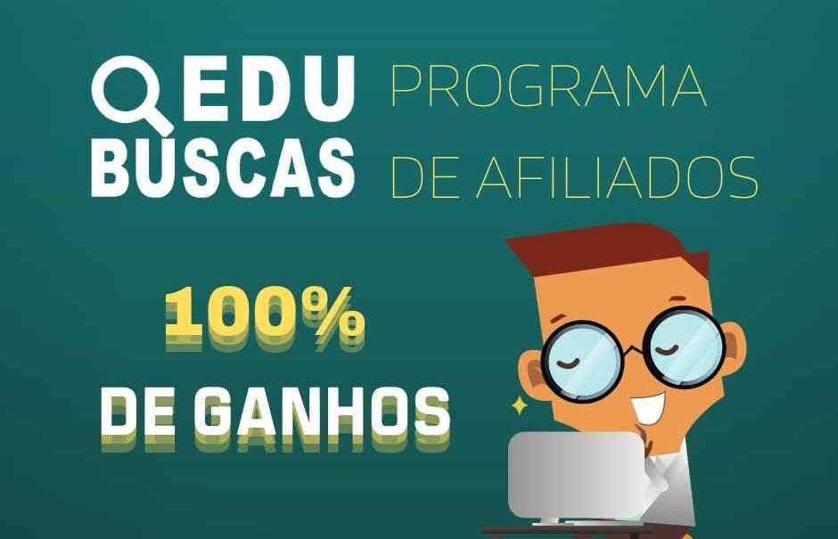 imagem mostrando banner do programa de afiliados - Edu Buscas
