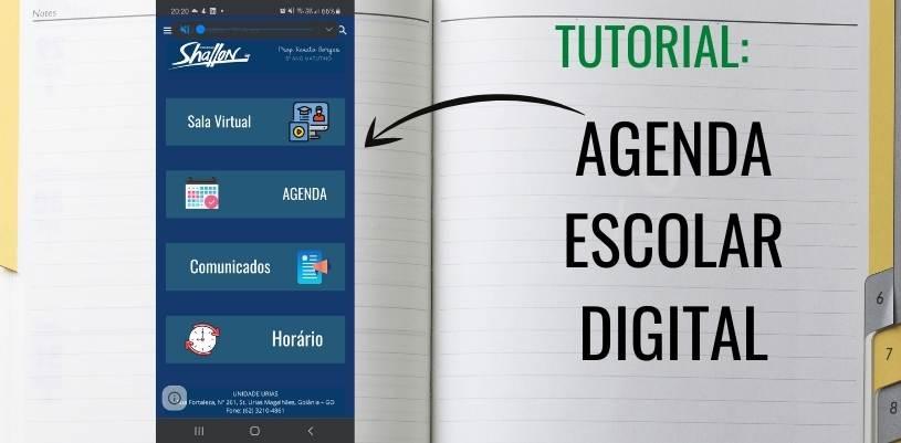 Imagem mostrando avatar da agenda