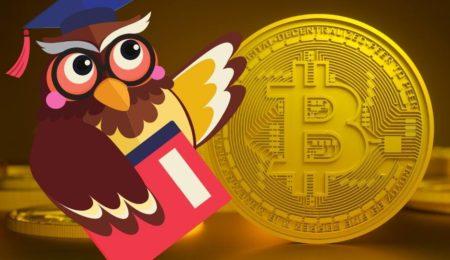 Omagem mostrando Bitcoins para professores